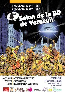 Salon de la bd verneuil 15 nov 2015 apero for Salon de la bd colomiers